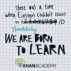 You Can Learn Anything | Khan Academy AWESOME video to pair with the book Growth Mindset in the Classroom!