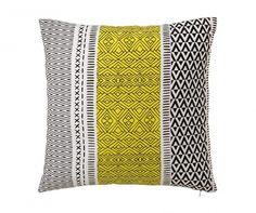 Geometric Yellow Díszpárna 45x45 cm
