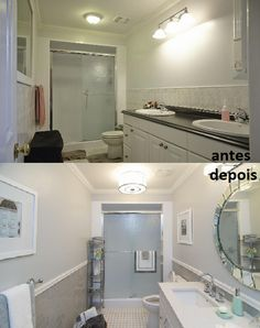 Banheiro   Property Brothers - Buying & Selling - Season 3 - Simone e Madan
