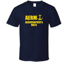 Aerographer's Mate AERM US Navy T Shirt