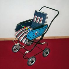Nostalgie Puppenwagen, Sportwagen mit Fußsack