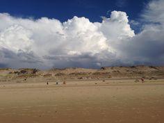 Amazing clouds stop at the dunes  ,amazing Biscarrosse # Bisca