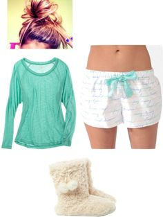 """Sleepover outfit"" by crabcreek on Polyvore"
