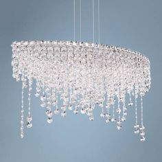 Schonbek Chantant Wide Small Crystal Pendant Light- Best Room Decorations for Your Home Crystal Ceiling Light, Crystal Pendant Lighting, Ceiling Lights, Crystal Lamps, Crystal Glassware, Sloped Ceiling, Light Pendant, Clear Crystal, Chandelier Lighting Fixtures