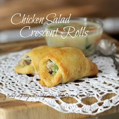 Chicken Salad Crescent Rolls