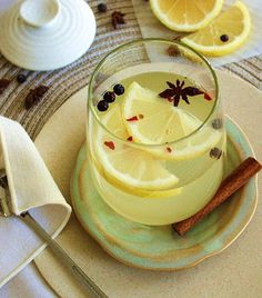Healing Hot Toddy (Alcohol-Free) by inspirededibles #Colds