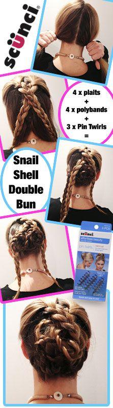 The Snail Shell Double Bun!