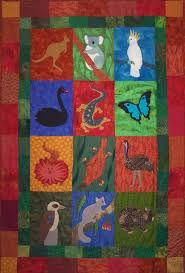Image result for A is for Aussie animals quilt Sewing Appliques, Applique Patterns, Applique Quilts, Applique Designs, Quilt Patterns, Alphabet Quilt, Australia Animals, Baby Mine, Kiwiana
