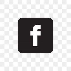 Facebook Icon Vector, Logo Facebook, Black Social Media Icons, Social Icons, Instagram Symbols, Instagram Logo, Face Book App, Facebook Logo Transparent, Portfolio Web