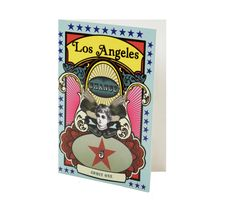 Card Los Angeles / Front