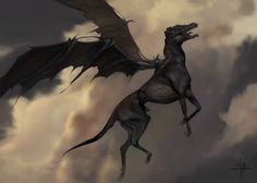 thestral_flying: images and info for the magical creatures book.