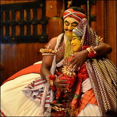 Kathakali performance, Cochin by Aravindan Rajaram, via Flickr