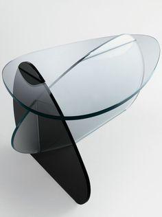 #Glass coffee #table KAT - @tonellidesign