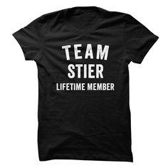 STIER TEAM LIFETIME MEMBER FAMILY NAME LASTNAME T-SHIRT