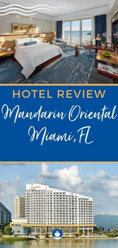 Our latest Mandarin Oriental Miami Hotel Review details why this luxurious 5-star hotel ranks among our favorite hotels near the Miami cruise port in FL. #Florida #FloridaVacation #Miami #hotelreview #cruise #eatsleepcruise Bermuda Vacations, Bahamas Vacation, Cruise Vacation, Cruise Miami, Cruise Port, Cruise Excursions, Cruise Destinations, Florida Activities, Navigator Of The Seas