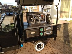 Piaggio Ape Coffee Van