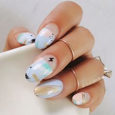 """3,028 Likes, 218 Comments - Nina Park. Nail Art. Boston. (@ninanailedit) on Instagram: """"It's time to share some nail art! Like this post and comment below and I'll select FIVE followers…"""""""