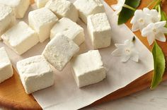 #Vegan Vanilla Marshmallows
