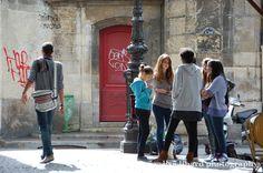 Teens in Paris. (c) Lisa Linard Photography.