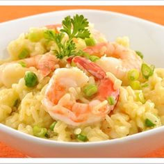 Shrimp Risotto- dinner tonight