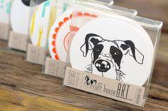 Variety Pack - Letterpressed Paper Coasters