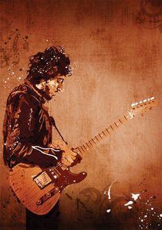 Items similar to Bruce Springsteen on Etsy Music Love, Art Music, Rock Music, Music Artists, Elvis Presley, The Boss Bruce, Bruce Springsteen The Boss, E Street Band, Born To Run