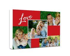 Foto Collage - Red Love - Fotoregali.com