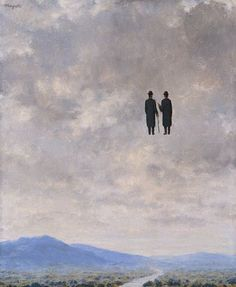 The art of conversation- Magritte