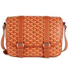 Messenger - Goyard Messenger Shoulder Bag Orange