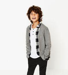 Image 1 of Basic cardigan from Zara Kids Fashion Boy e63951c121516