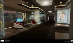 Concepts done for Samuel's office.   All Images © id Software, LLC, a Zenimax Media Company.