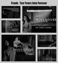 Frank: Ten Years Into Forever Amy Winehouse Frank, Amy Winehouse Foundation, Music Therapy, Music Education, Debut Album, 10 Years, Graphics, Fan, Club
