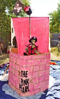 "Photo 2 of 13: Pirate / Birthday ""Pirate Princess"" | Catch My Party @ brandi scott   princess and pir  ** To cute!! But would be boy theme"