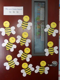 Love To Teach Happy Easter Bumble BeesHappy