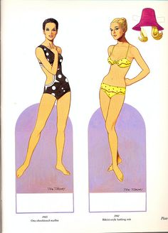Paper Dolls from the 60's