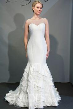 Olia Zavozina Wedding Dresses Spring 2015 Bridal Runway Shows Brides.com   Wedding Dresses Style   Brides.com