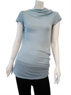 Designer: Delphine Wilson    Item: T-Shirt M/M    Composition: 88% Viscose 12% Silk    Made in Italy    > Need Help?    Price $ 124.00