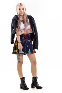 Focus on the Good because it's Friday 😇😇 Nothing can Dim the Light which Shines from within #scottishkiltshop #scottishkilt #kilt #kiltshop #skirt #scottish #womensfashion #stylishskirt #denimkiltfoewomen #stylishdenimtartanskirt Casual Skirts, Denim Skirts, Kilt Shop, Leather Kilt, Kilt Skirt, Scottish Kilts, Tartan Kilt, Light Denim, Blue Denim