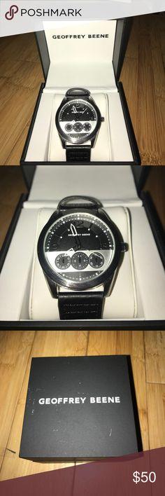 Geoffrey Beene Watch Never Worn Great looking Geoffrey Beene Watch. Never worn. NWOT. Comes with box. Make an offer! Geoffrey Beene Accessories Watches