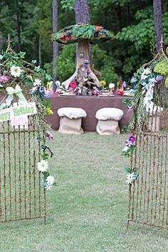 Fairy Garden Party table idea