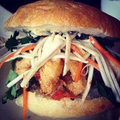 amazing #calamari #sandwich at #comandgetit on #spadina in #toronto