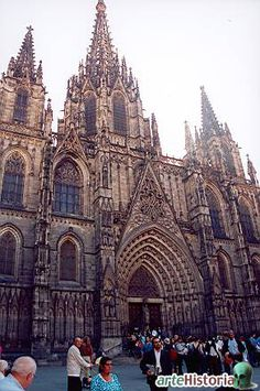 Catedral de Barcelona, Barcelona, Spain. The most beautiful cathedral I have been in so far.