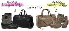 Win Mix & Match pakket van Invito (2x) (tot 31 augustus) | Kleding winnen | Schoenen | FashionWinnen