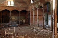 The former stables...imagine them in their glory.