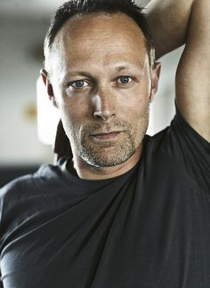 Danish actor Lars Mikkelsen, star of Borgen and The Killing. He's so gorgeous.