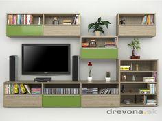 Design - Living room wall for tv #livingroom