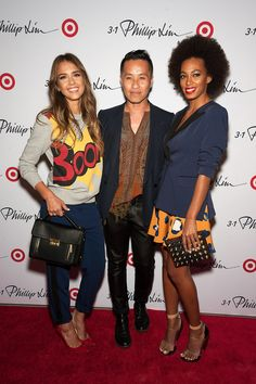 Jessica Alba and Solange Knowles celebrate 3.1 Phillip Lim for Target launch  SKIRT: LOVE