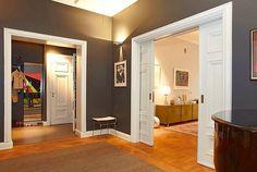 белая дверь в интерьере - Поиск в Google
