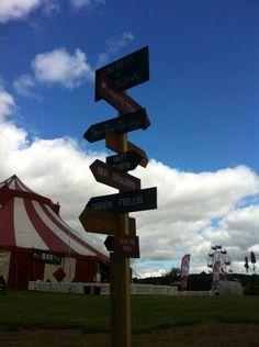 Sign posts, choices choices!