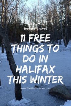 11 Free things to do in Halifax. 11 Free things to do in Halifax. Oahu Vacation, Weekend Vacations, Winter Destinations, Canada Travel, Travel Usa, Free Things To Do, United States Travel, Winter Travel, Hawaii Travel